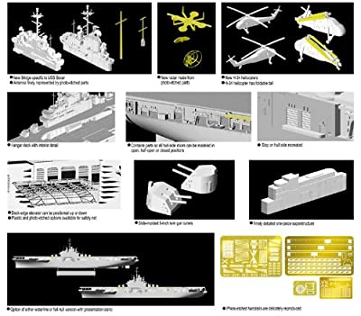 Dragon Models 1/700 U.S.S. Boxer LPH-4 Helicopter Carrier