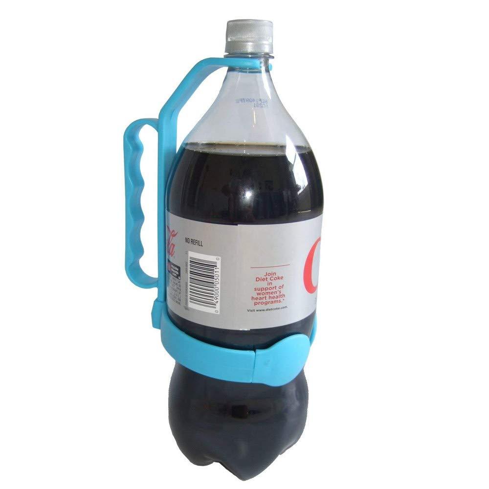 Kiminana Universal Bottle Handle Handle Beverage Bottle Handle Hand Grip Water Handle Orange, Blue