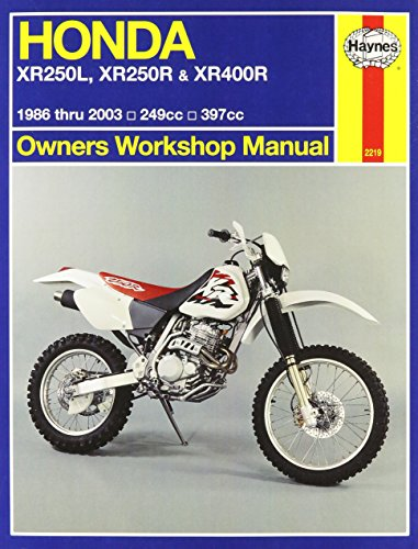 Honda XR250L,XR250R,& XR400R Owners Workshop Manual: 1986-2003