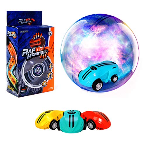 Hobby Leopard Stunt Car Mini Cool Toys, Racing Car with Rechargeable Battery and 360 Degree Spinning with Real Taillights for Age 3+ Kids.(Assorted Colors,1pcs)