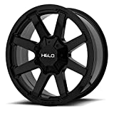 2001 dodge ram 1500 rims - Helo HE909 20x9 5x139.7/5x150 +18mm Gloss Black Wheel Rim