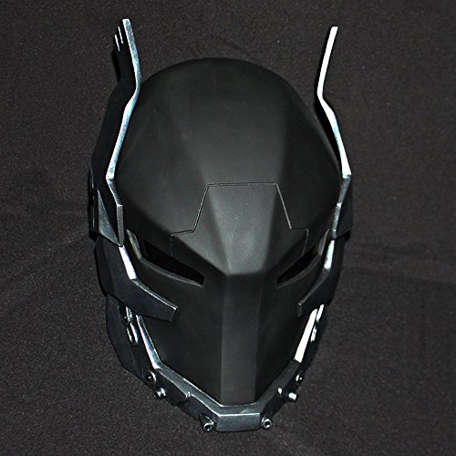 1:1 Halloween Costume Cosplay Red Hood Mask Batman Arkham Knight Helmet (Arkham Knight Costume Halloween)