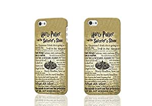Harry Potter Quote Vintage Page 3D Rough Case Skin, fashion design image custom , durable hard 3D case cover for iPhone 4 4S , Case New Design By Codystore