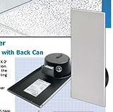 Bogen CSD1X2 1 x 2 White Drop In Ceiling Speaker - 2 Pack
