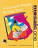 img - for Mosaic I: A Content-Based Writing Book book / textbook / text book