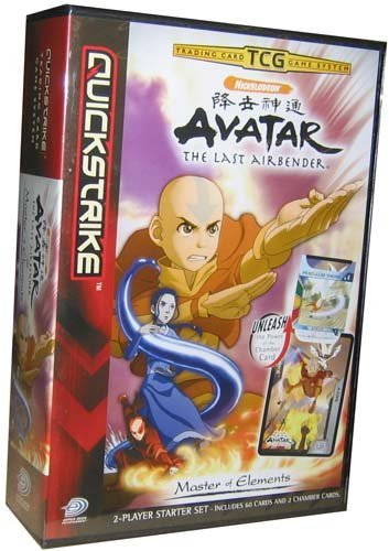 1989 World Series Game - Avatar Card Game - Master of the Elements Starter Deck Set - 2d62c by Upper Deck