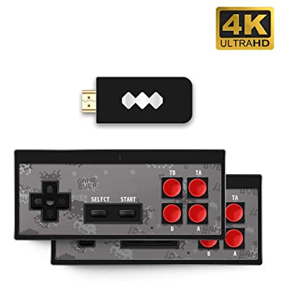 guanguan HDMI HD Retro Game Console, Built-in 568 Classic Video Games USB Handheld Retro Gamepad Controller, for Dual Players: Home & Kitchen