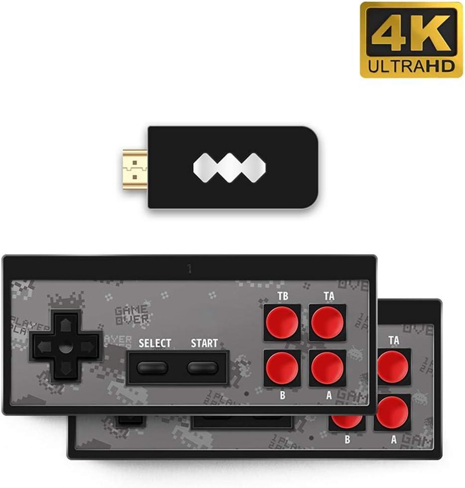 Feunet Inicio Interfaz HD HDMI Consola de Juegos Máquina de Videojuegos HD Clásico nostálgico 568 Videojuegos clásicos incorporados