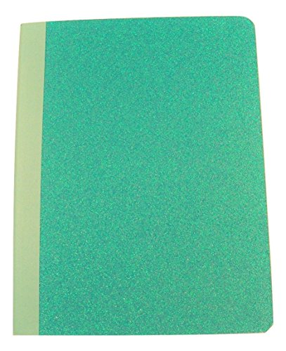 Carolina Pad Studio C Wide Ruled Composition Book ~ All A Flutter (Turquoise; 7.5