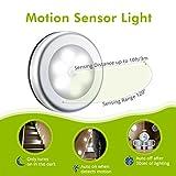 VicTsing Motion Sensor Light, Battery-Powered LED