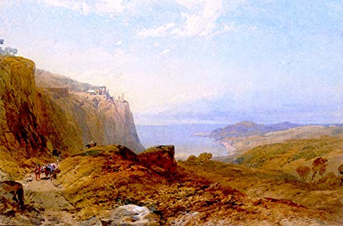Collection Canvas Mount (Thomas Miles Richardson, Jr. Mount Giuliano, Sicily 1858 Private Collection 30