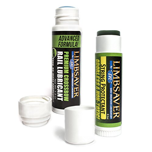 LimbSaver Crossbow Rail Lube and Bow String Conditioner Combo Pack -