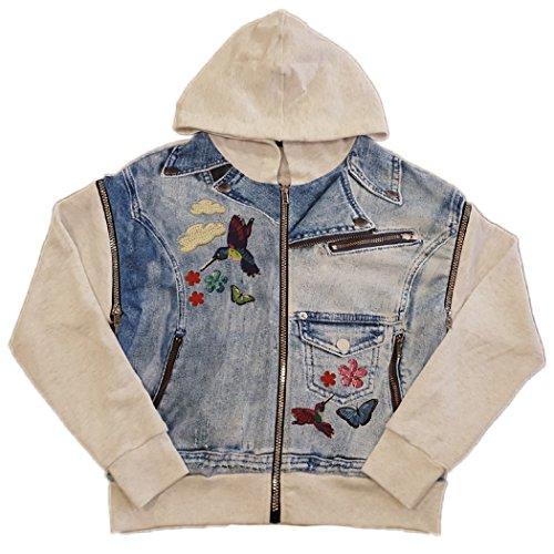 Zara Terez Girl's Sequin Printed Vest Jacket (M, (Zara Terez Kids)
