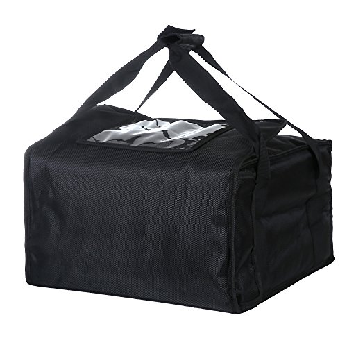 "Pizza Delivery Box (Polyester Insulated Pizza / Food Delivery Bag Professional Pizza Delivery Bag 18""×18""×8"" for Three 16"