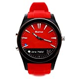 Martian Watches Notifier Smartwatch - Red