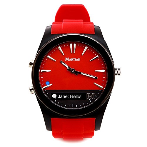 Martian Watches Notifier Smartwatch – Red