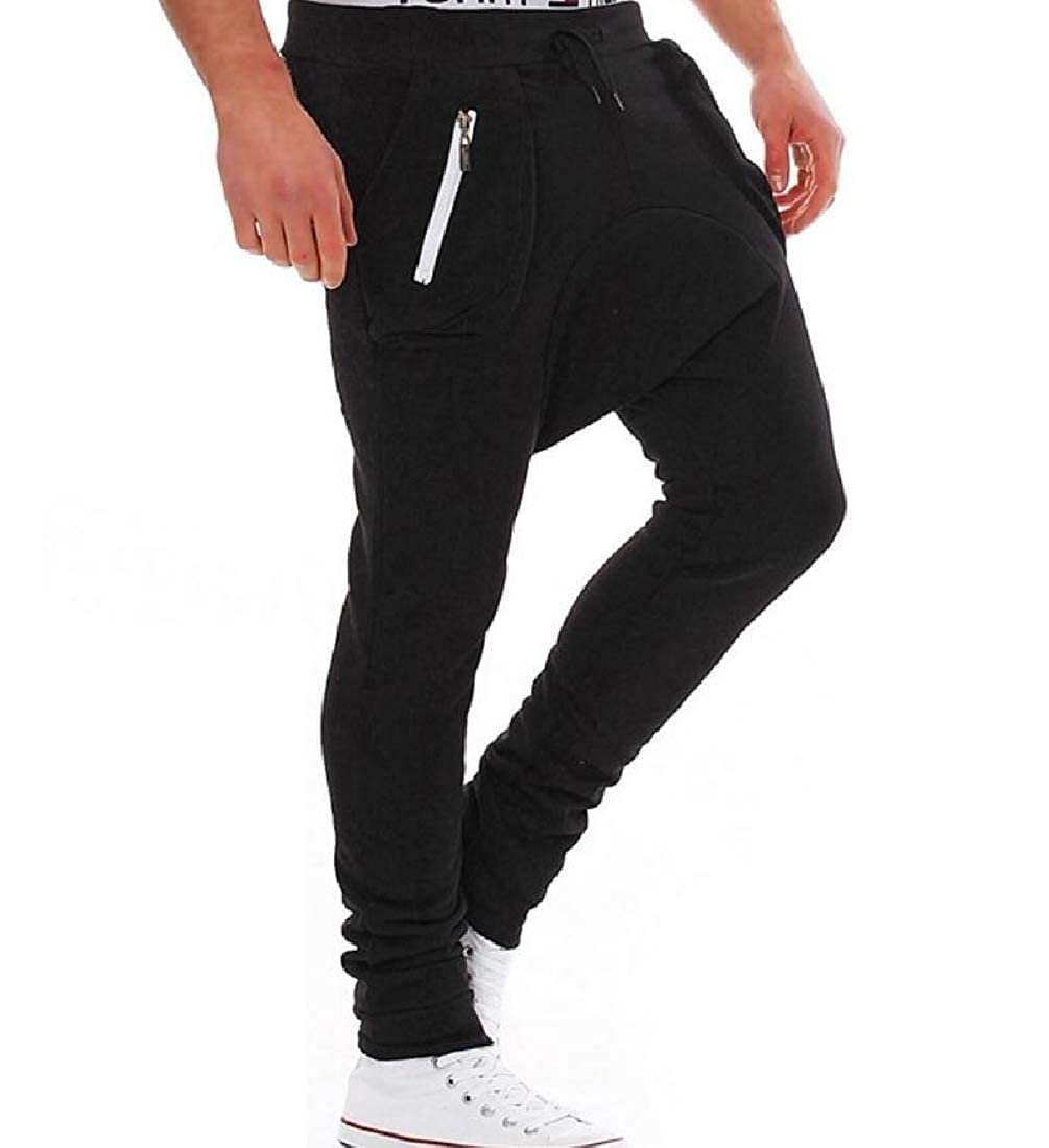 Winwinus Mens Vogue Slim Harem Casual Slim Student School Long Pants