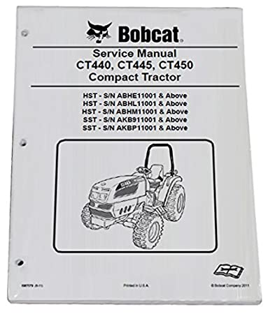 Wiring Diagram For Bobcat Ct 440 Tractor - Liry Of Wiring Diagrams