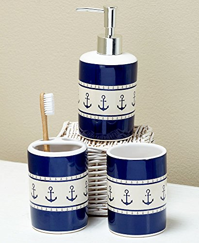 The Lakeside Collection Newport 3-Pc. Sink Set