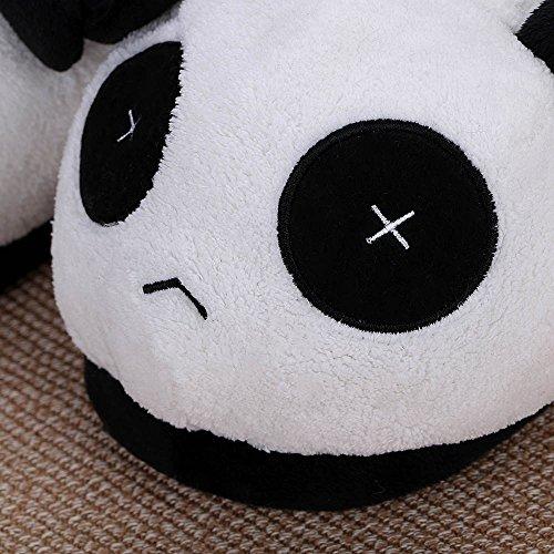 indoor novità pantofole dei cartoni belle pantofola amanti 10 della termici per 26cm animati morbido Panda Bambino 24 caldo Anself viso Scarpe inverno famiglia in peluche gli qtEAzwFW