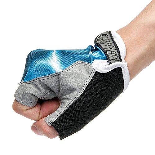 Ezyoutdoor Bike Full Finger Glove Riding Glove Breathable Unisex Reflex Outdoor Cycling Skiing Skateboard Shock Pads by ezyoutdoor (Image #1)