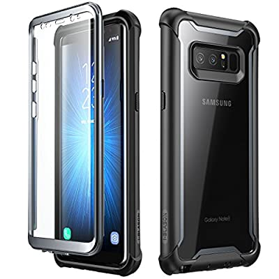 Samsung Galaxy Note 8 case, i-Blason [Ares] Full-body Rugged Clear Bumper Case with Built-in Screen Protector for Samsung Galaxy Note 8 2017 Release