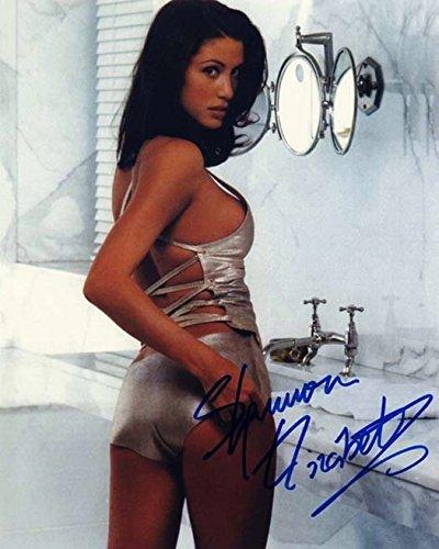 Shannon Elizabeth Sexy Photo Autograph Autographed Photo Signed Autogramm Reprint Rp