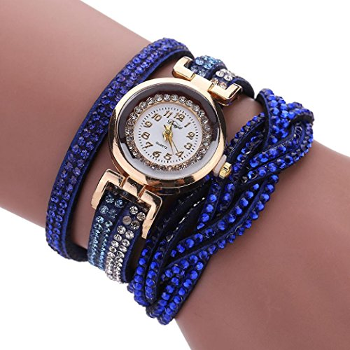 Juicy Couture Women's Navy Blue Silicone Strap Watch - 5