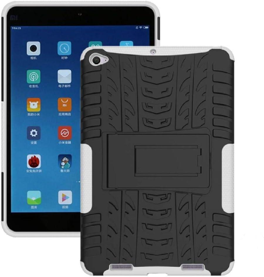 Funda Resistente híbrida 2 en 1 de Alta Resistencia para Xiaomi Mipad 2 Cubierta para MiPad 3 7.9 Mipad3 mipad2 Tablet Funda a Prueba de Golpes-Blanco