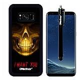 Galaxy S8 Case, Golden Skull I
