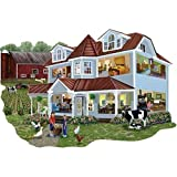 Bits and Pieces Granny's Farm 750 Piece Shaped Jigsaw Puzzle