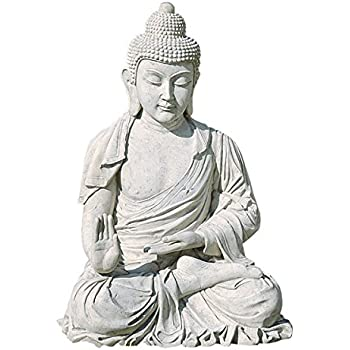 Design Toscano Meditative Buddha of the Grand Temple Garden Statue: Large