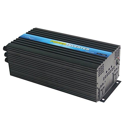 Nimble MR4000 Pure Sine Wave Off-grid Inverter with Remote Control, Solar Inverter 4000 Watt 24 Volt DC To 220 Volt AC by NIMTEK Solar Inverter