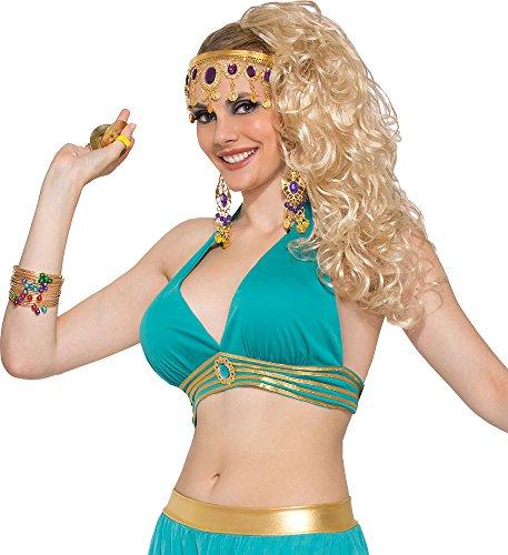 Ladies Arabian Persian Costume Accessory Desert Princess Outfit Bangle Bracelets