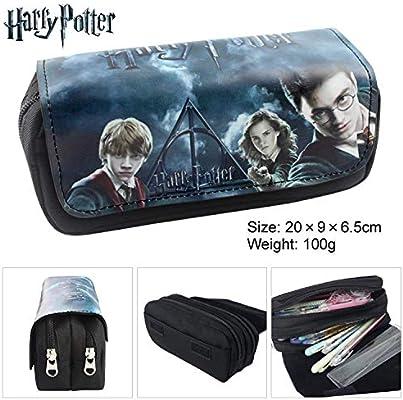 Let it be love Harry Potter Estuche Escolar con Dos Compartimentos: Amazon.es: Juguetes y juegos