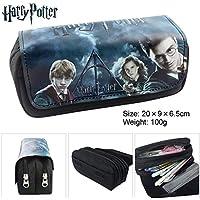 Let it be love Harry Potter Estuche Escolar con Dos Compartimentos