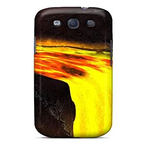 diy phone caseFashion Protective Lavafall Case Cover For Galaxy S3diy phone case
