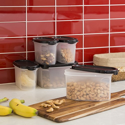 kitchen storage containers buy online bino 10 airtight stackable kitchen storage container 8617