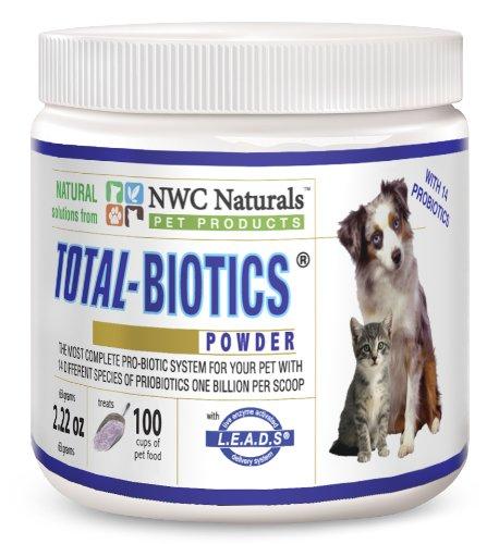 NWC Naturals Total-Biotics Powder, 2.22-Ounce, My Pet Supplies