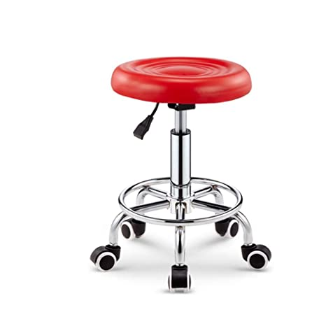 Peachy Amazon Com Ccf Bar Stools Barber Beauty Pulley Chairs Machost Co Dining Chair Design Ideas Machostcouk