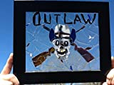 Stained Glass Outlaw Souljers Window Art Sun Catcher