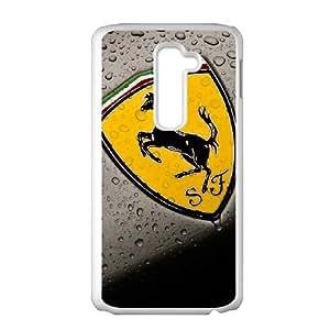 LG G2 white Phone Case Ferrari Maverick Fantasy Funny Terror Tease Magical YHNL797886868