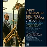 """Art Farmer - Benny Golson Jazztet. """"Here & Now"""" / """"Another Git Together"""" / """"Plays John Lewis"""""""