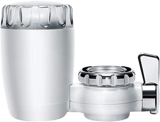 Grifos de la Cocina Filtro Filtro de Agua del Grifo Purificador de Agua doméstico Filtro de cerámica Lavable Mini purificación de Agua (Color : White): Amazon.es: Hogar