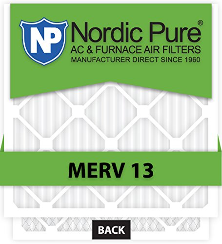 10x30x1 MERV 13 AC Furnace Filters Qty 6