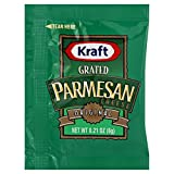 Kraft Grated Parmesan Cheese, 6 Gram - 200 per case.
