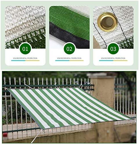 Wtop 日 遮阳棚,オーニング 用 プラントカバー 温室 効果 子供 犬 小屋 パーゴラ プール,90% 遮光罩 日よけ シェード 簡単設置 グリーンホワイト 2x2m