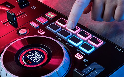 Numark Mixtrack Platinum | 4-channel DJ Controller With 4-deck Layering and Hi-Res Display for Serato DJ by Numark (Image #6)