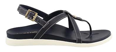 2e2156b6abc Vionic Palm Veranda- Womens Platform Sandal Navy - 5 Medium