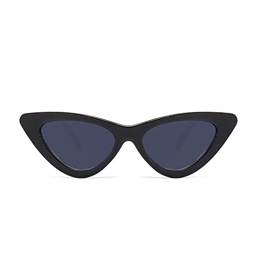 7cd72ecfbfd5 Image Unavailable. Image not available for. Color: AMOFINY Fashion Glasses  Women Cat Eye Shades Sunglasses Integrated UV ...